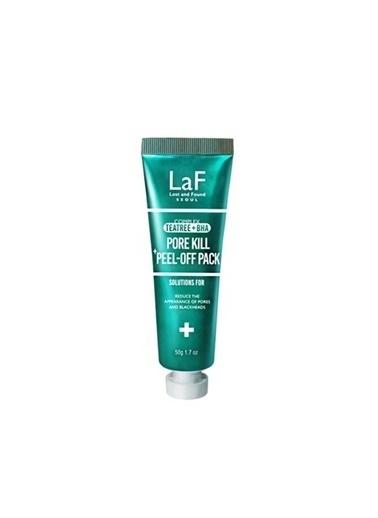 Laf Teetree Bha Pore Kill Peel Off Pack 50G - Gözenek Bakımı İçin Siyah Maske Renksiz